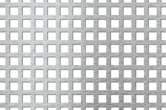 Perforated sheet C10 U15 Aluminium
