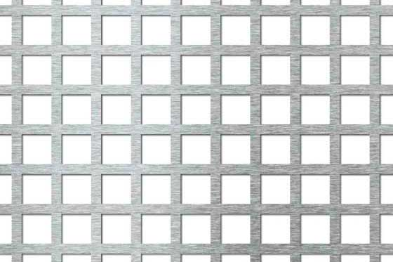 Perforated sheet C15 U20 Mild Steel