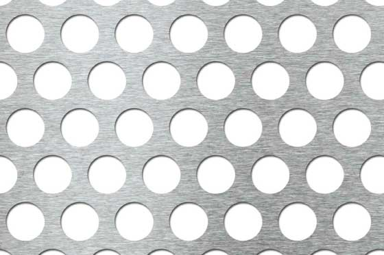 Perforated sheet R20 T28 Mild Steel