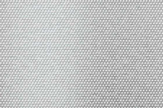 Perforated sheet R2 T3,5 Stainless steel