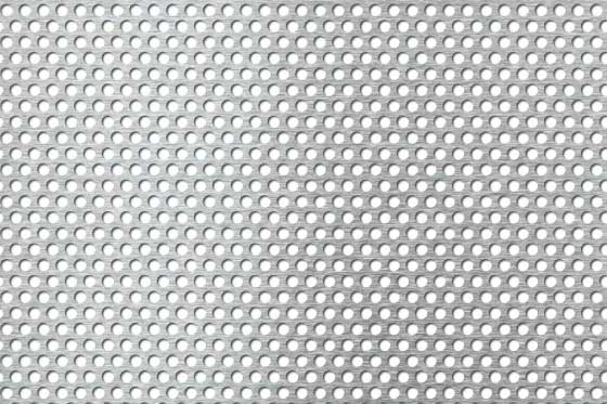 Perforated sheet R4 T6 Mild Steel