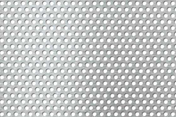 Perforated sheet R5 T8 Stainless steel