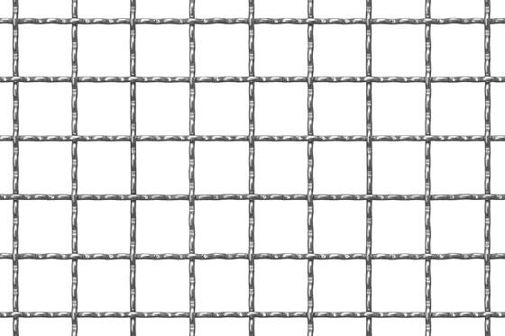 Crimped mesh 21x21