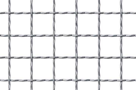 Crimped mesh 30x30