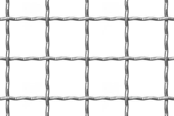 Crimped mesh 42x42