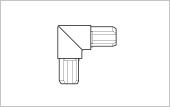 Corner connector LR 27