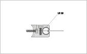 Profile bracket LR 18 for post tube